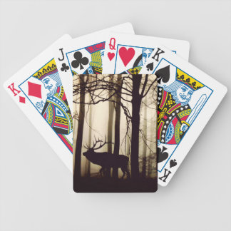 forest bicycle playing cards