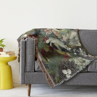 Forest Blanket Throw Blanket
