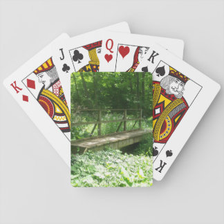 Forest Bridge Playing Cards