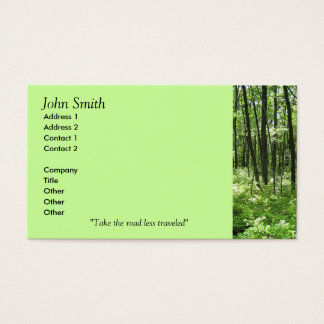 Forest Business Cards