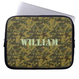Forest Camo Laptop Sleeves