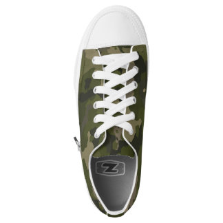 Forest Camo Low-Top Sneakers