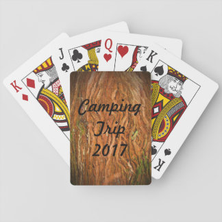 Forest Camping Poker Deck