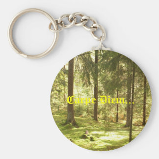 Forest - Carpe Diem Keychain