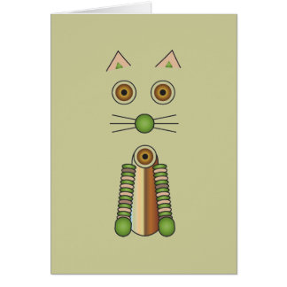 Forest Cat Card