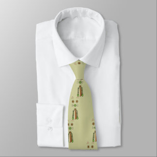 Forest Cat Tie