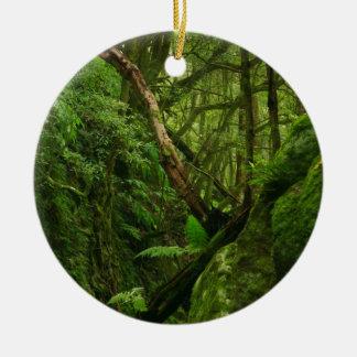 Forest Ceramic Ornament