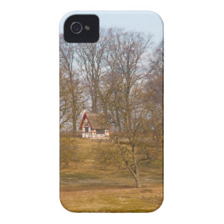 Forest cottage iPhone 4 covers