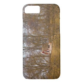 Forest cottage iPhone 7 case