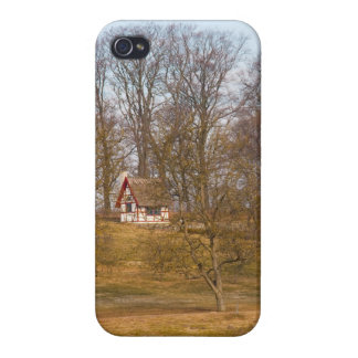 Forest cottage iPhone 4 cover