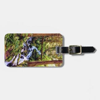 Forest Creek Luggage Tag