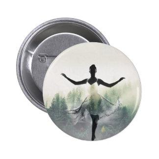 Forest Dancer 2 Inch Round Button