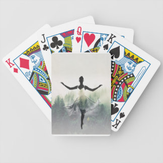 Forest Dancer Bicycle Playing Cards