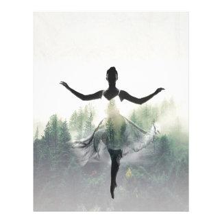 Forest Dancer Letterhead Template