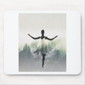 Forest Dancer Mouse Pad