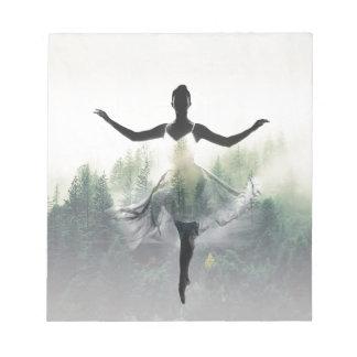 Forest Dancer Notepad