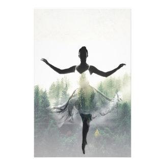 Forest Dancer Stationery