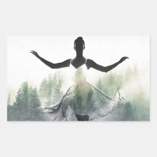Forest Dancer Sticker