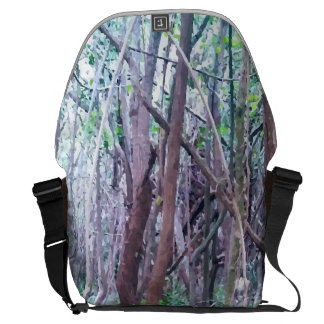 Forest Design Messenger Bag