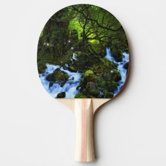 Forest Dreams Ping Pong Paddle