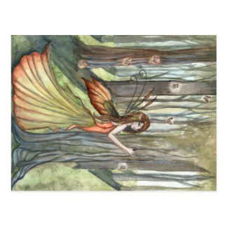 Forest Enchantment Fairy Art Postcard