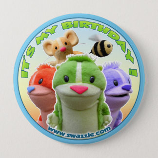 Forest Fables Birthday Button