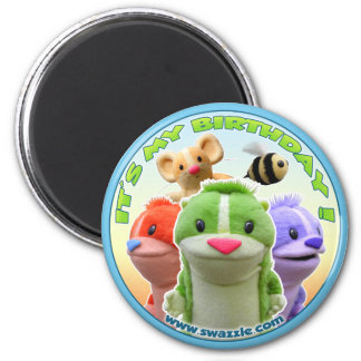 Forest Fables Birthday Magnet