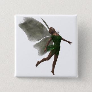 Forest Fae 2 Inch Square Button
