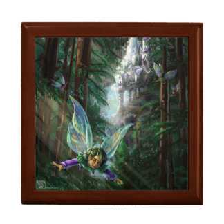 Forest Faires and Waterfall Castle Gift Box