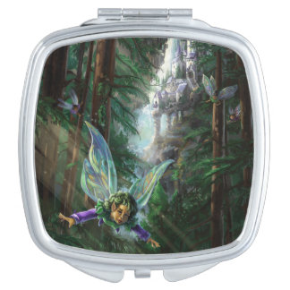 Forest Faires and Waterfall Castle Vanity Mirrors