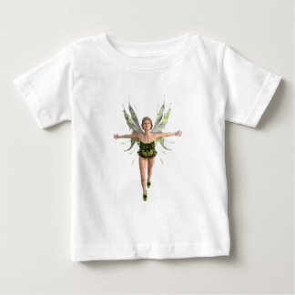 Forest Fairy Flying to the Front Baby T-Shirt