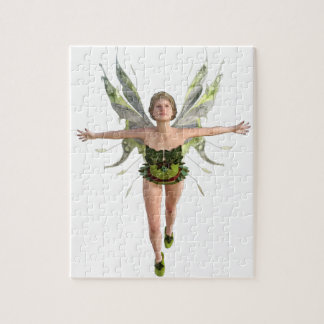 Forest Fairy Flying to the Front Jigsaw Puzzle