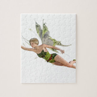 Forest Fairy Flying to the Right Jigsaw Puzzle