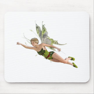 Forest Fairy Flying to the Right Mouse Pad