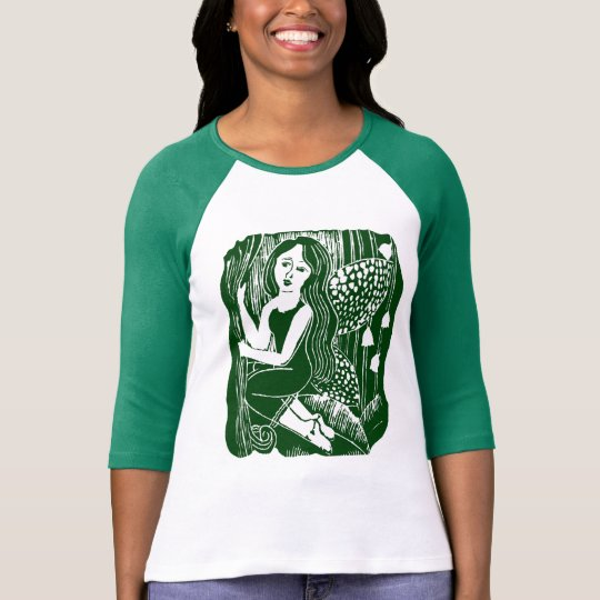 Forest Fairy Ladies Raglan T-Shirt
