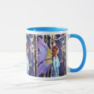 Forest Fairy Mug Faerie Mug Faery Mug