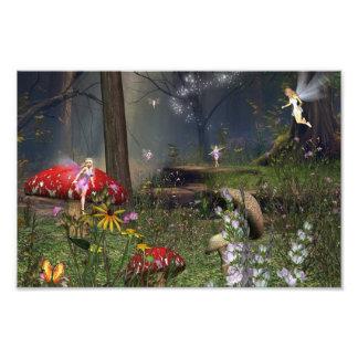 Forest fairy print photo print