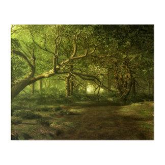 Forest fantasy acrylic wall art