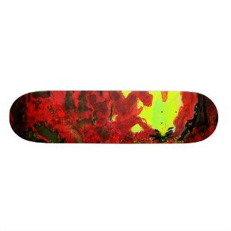 forest fire heart skate decks