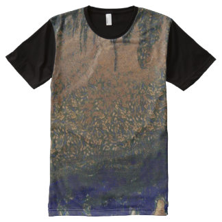 Forest floating on water reservoir All-Over-Print T-Shirt