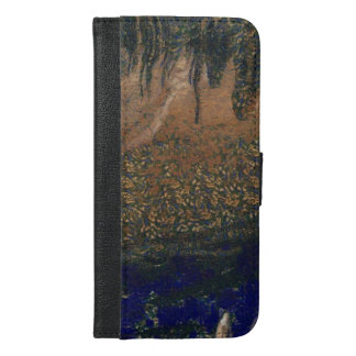 Forest floating on water reservoir iPhone 6/6s plus wallet case