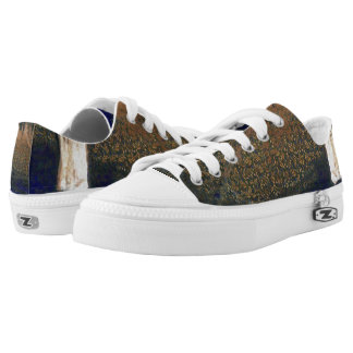 Forest floating on water reservoir Low-Top sneakers