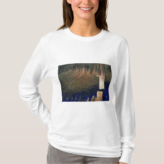 Forest floating on water reservoir T-Shirt