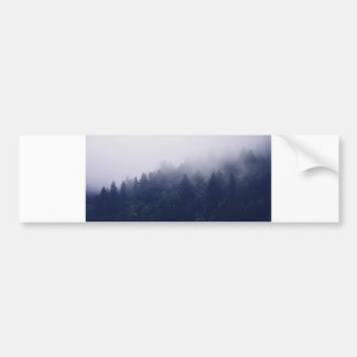 Forest Fog Bumper Sticker