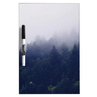 Forest Fog Dry Erase Board