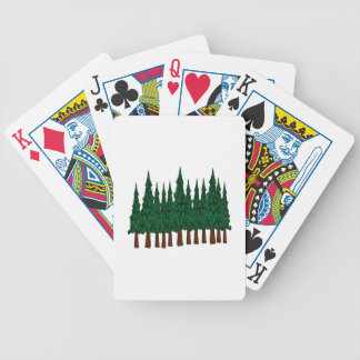 FOREST FOUNDERS BICYCLE PLAYING CARDS