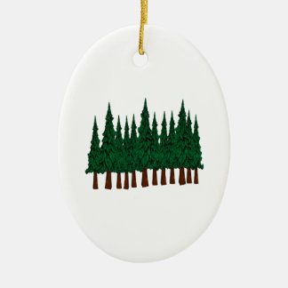 FOREST FOUNDERS CERAMIC ORNAMENT