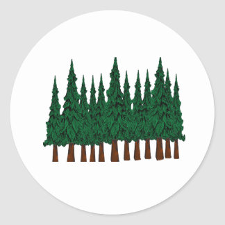 FOREST FOUNDERS CLASSIC ROUND STICKER