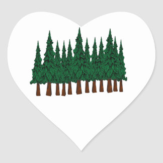 FOREST FOUNDERS HEART STICKER