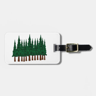 FOREST FOUNDERS LUGGAGE TAG